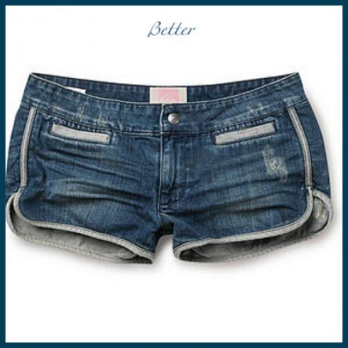 Текстильные фантазии и не только: Как сделать оригинальные шорты из старых джинсов