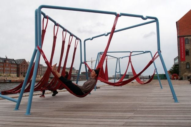 Adjustable Public Seats Create A Playground Suited For Adults [Pics]
