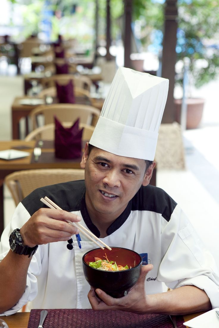 """I've worked in the kitchen for more than 15 years, in five-stars hotels and luxurious cruise ships."""