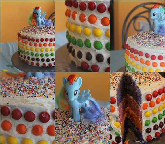 Diy My Little Pony Party Little Pony Party My Little Pony Cake