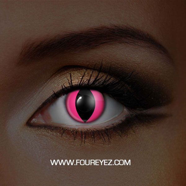 Pink Cat UV Contact Lenses (Pair)