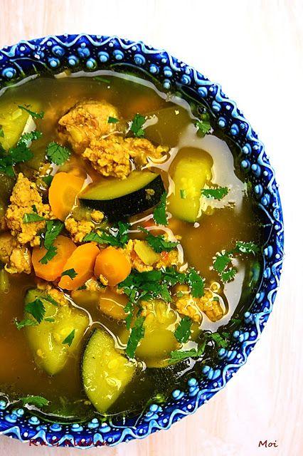 R'n'G Kitchen: Zupa curry z indykiem i cukinią