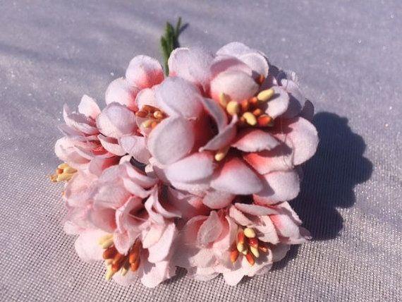 6 Rose Fiore rosso fiori fiori di seta artificiale fiori falsi