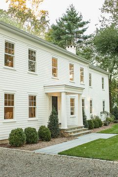 Westport Farmhouse for the Modern Traditionalist - traditional - exterior - new york - Thiel Architecture + Design