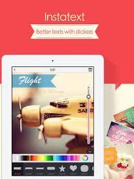 Andrea // con Insta Text tenemos múltiples posibilidades al incorporar textos en nuestras fotos. Una de ellas es cambiar de color el texto o añadir stickers que también podemos moldear a nuestro gusto!