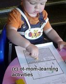 """Pencil Grasp Development"" OT Mom Learning Activities. Excellent illustrated guide by an"