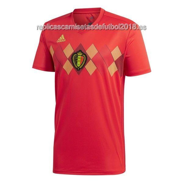 Primera Replicas Camiseta Belgica 2018  43c3efd94e828