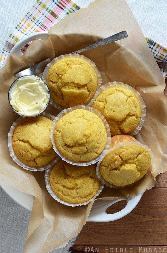 Creamed Corn Cornbread Muffins Recipe