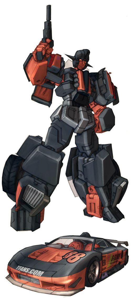 Wild Rider in colour by ~Blitz-Wing on deviantART (redesign)