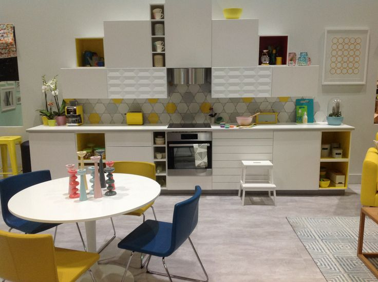 Ando Concrete being used at Grand Designs Live 2014.