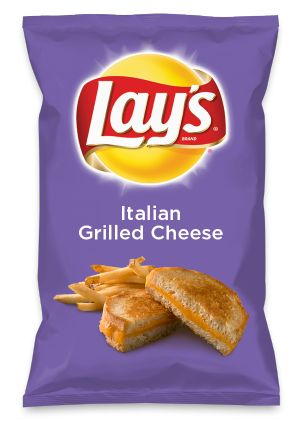 Wouldn't Italian Grilled Cheese be yummy as a chip? Lay's Do Us A Flavor is back, and the search is on for the yummiest flavor idea. Create a flavor, choose a chip and you could win $1 million! https://www.dousaflavor.com See Rules.