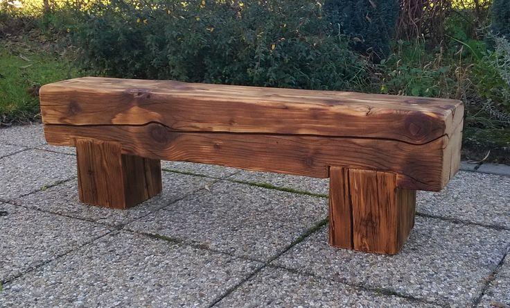 bontott gerenda pad / 100 years old beam bench