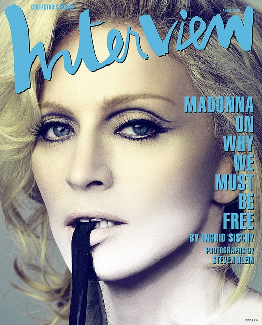 Madonna Interview By Marcos Moraes by marcosvlmoraes, via Flickr