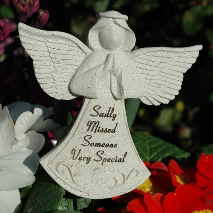 Someone Special Memorial Angel Stick available here http://graangels.ie/memorial