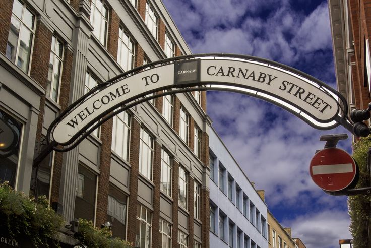 Carnaby St sign