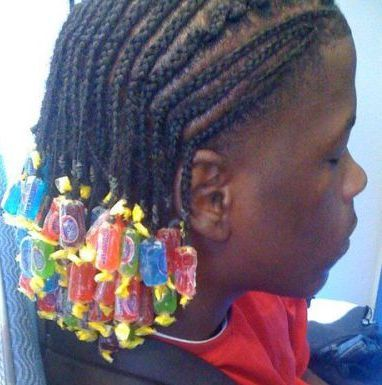 Black Ghetto Hairstyles | Jolly Ranchers are da bomb, but these might give you hairballs.