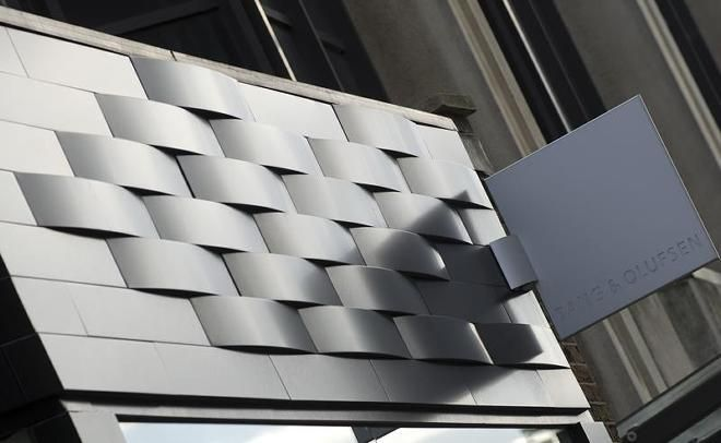 Take a look of Bang & Olufsen store, it's not just a shop front, it's everything.  #Fabricatedtiles #NESSolutions