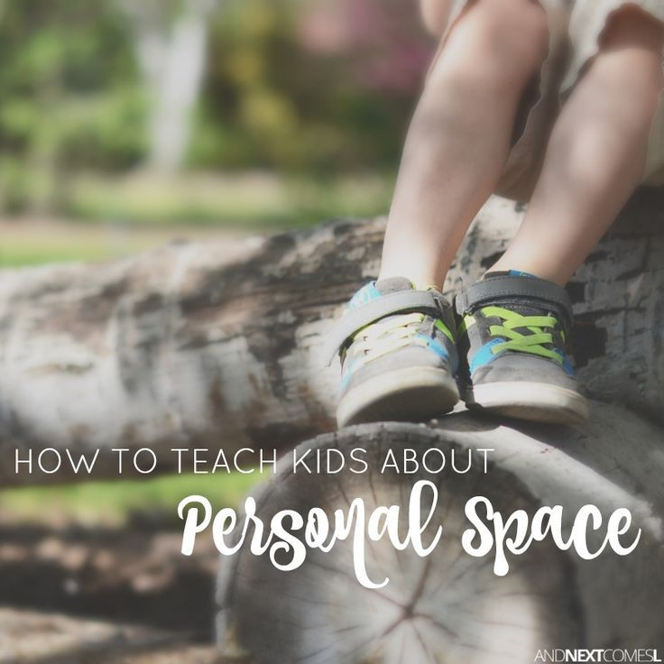 how to teach an autistic child about personal space