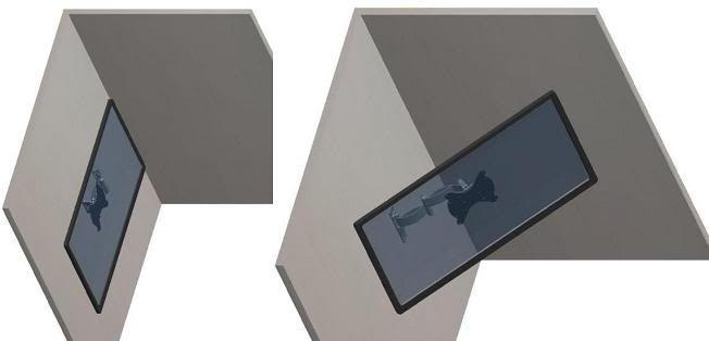 "Swivel Corner TV Wall Mount - 22""-37"" | Corner Mount                                                                                                                                                     More"