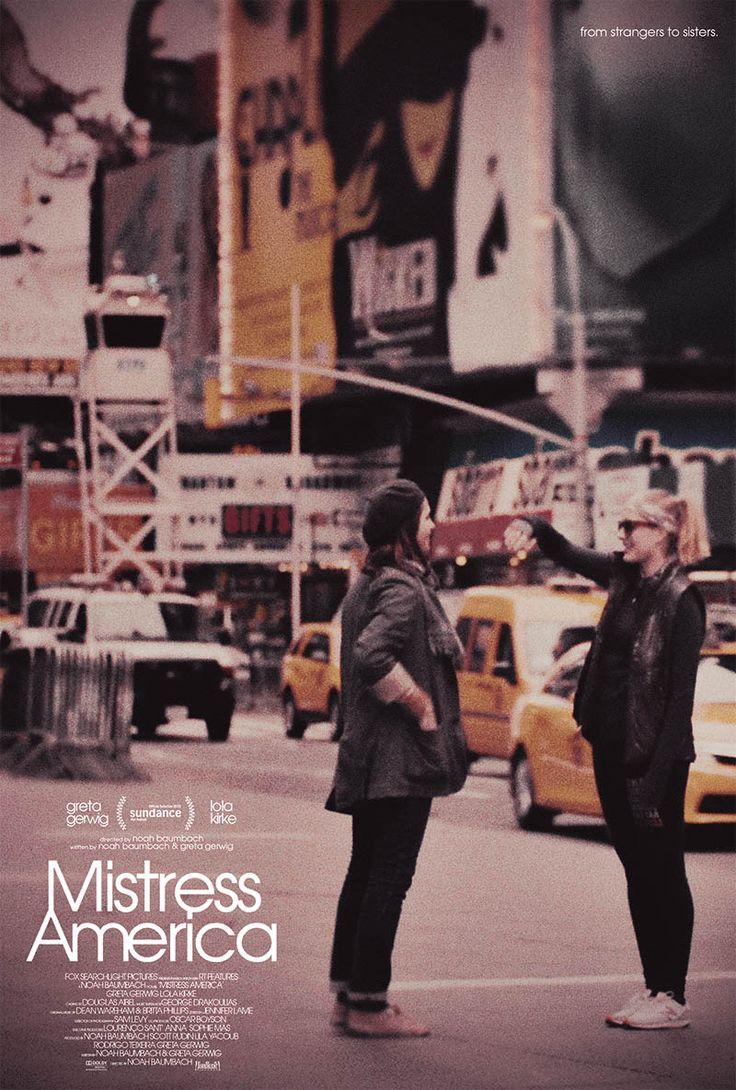 """""""Госпожа Америка"""" Mistress America, 2015 реж. Ноа Баумбак"""