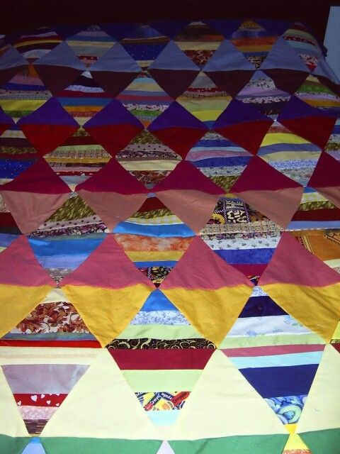 Diamonds quilt top ~by Gypsy Stitches~ BA