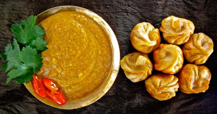Momo Ko Achar, Nepali, Dumplings, Momos, Momo, Chutney -2484