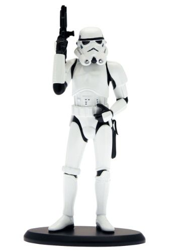 Start your own little desk army with our Attakus Star Wars Stormtrooper Statue! A great high-end yet affordable Star Wars collectible. $98.99