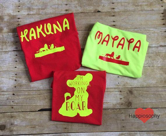Disney Couple Shirts Lion King Shirts Hakuna Matata Shirts