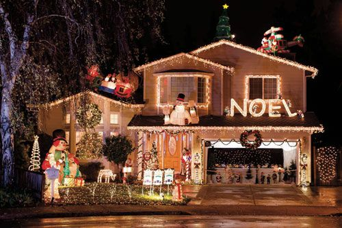 Holiday Home Decoration Winners Are Announced