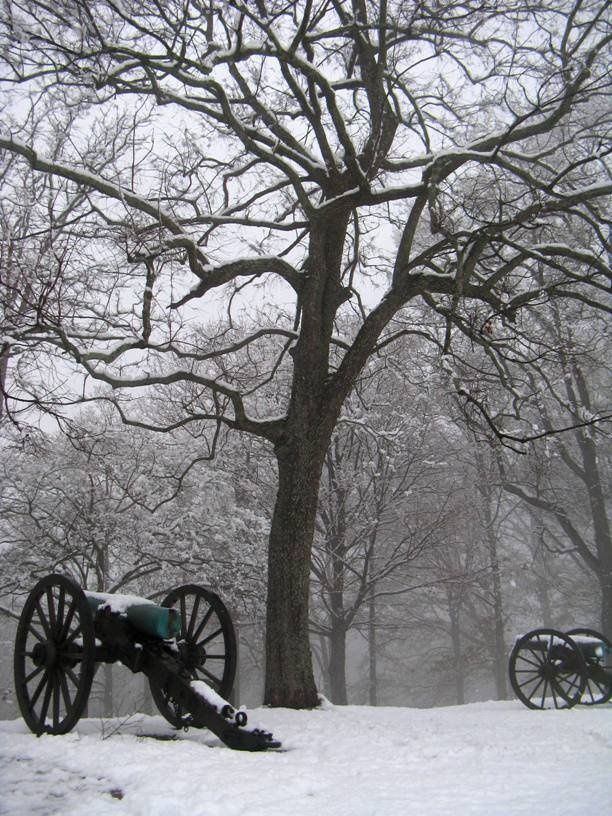 Missionary Ridge battlefield, Chickamauga and Chattanooga National Military Park, Georgia and Tennessee