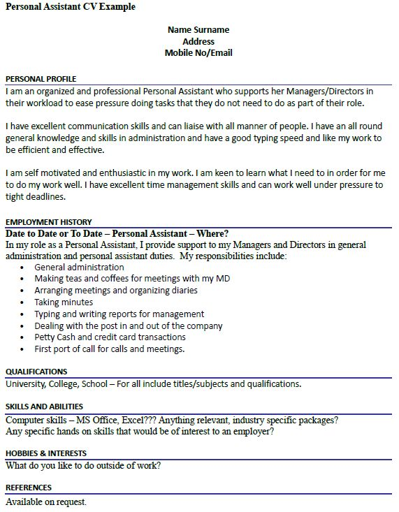 Best 25+ Cv examples ideas on Pinterest Professional cv examples - example of cv