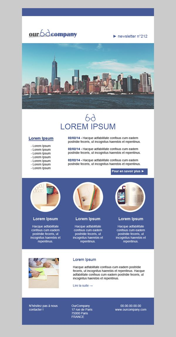 35 best Editable mailchimp template Newsletter images on Pinterest - professional email template