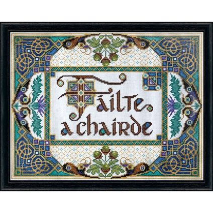 Failte A Chairde #foxcollection #crossstitch #craft