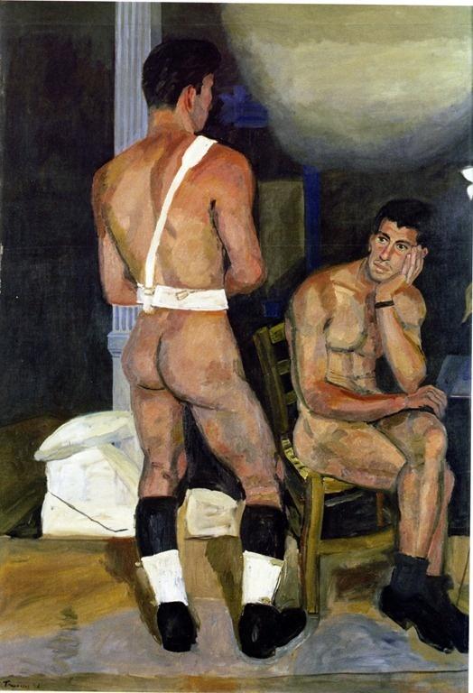 Yiannis Tsarouhis/Greek Painter  Art