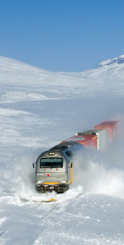 Snow Train, British Columbia, Canada