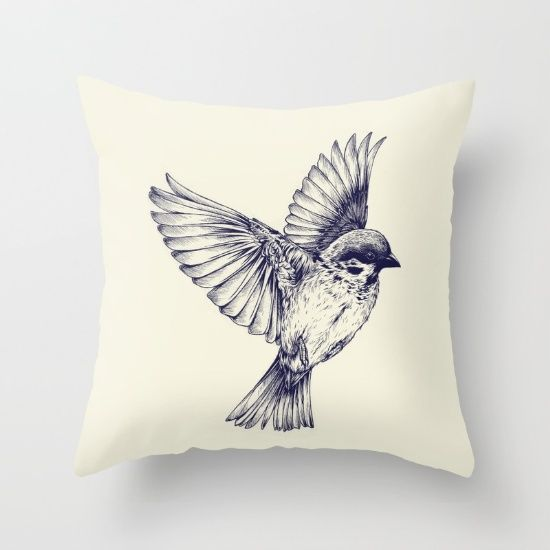 Newport Throw Pillows Birds : 17 Best images about WILDTHINGS - Animal Throw Pillows on Pinterest Happy dogs, Poplin and Zippers