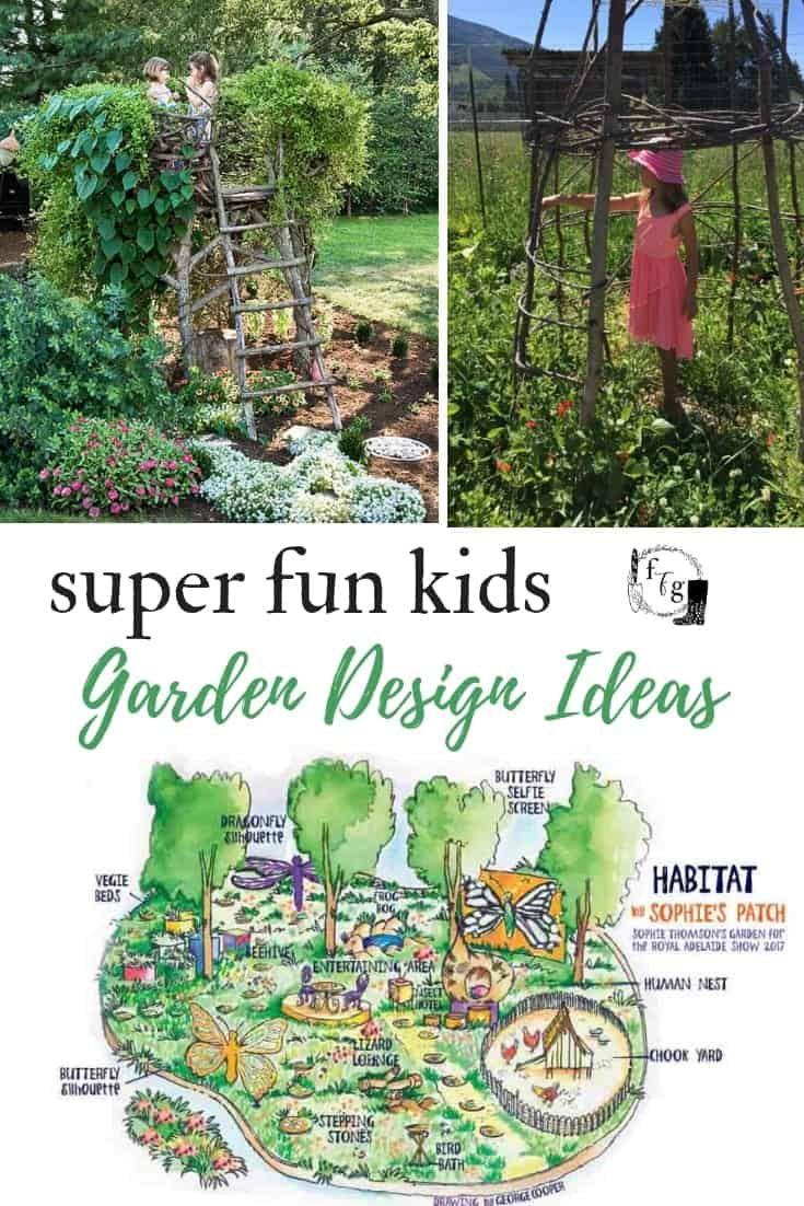 Magical Children S Garden Design Ideas 2020 En 2020 Jardin De