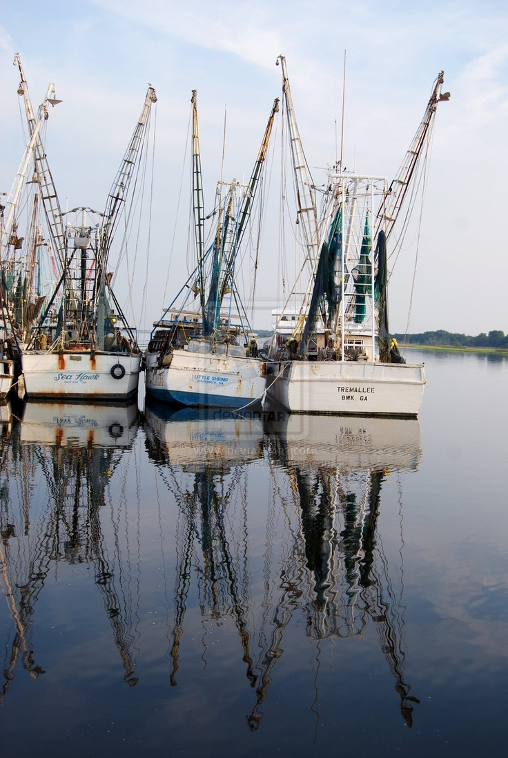 Shrimp Boats 2 by ~AsherCarson