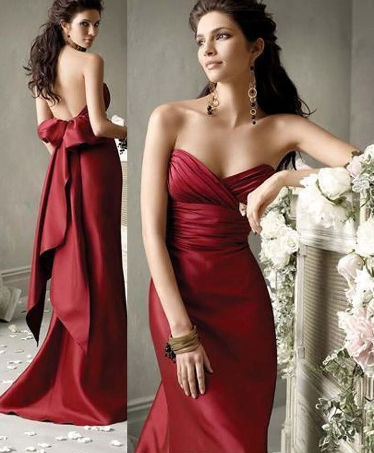Marine evening dress pattern