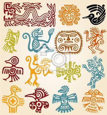 simbolos mayas mexicanos - Buscar con Google