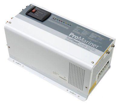 #marineelectronics ProMariner 01512 True Power 1500QS Inverter/Charger - 1,500 Watt Modified Sine Wave Inverter with 12 Volt, 40 Amp…