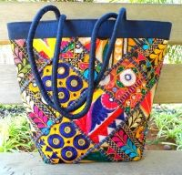 Designer Kutch Embroidery Bags, Ethnic Ladies Handbags Online