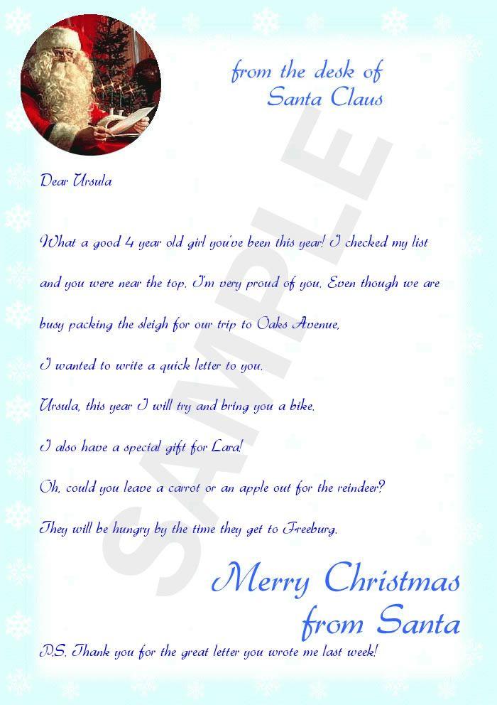 dear santa letter samples - photo #15
