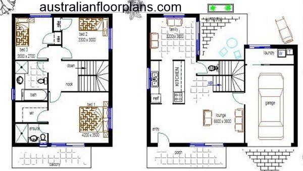 Australian Townhouse designs house plan:141DU | Townhouse ...