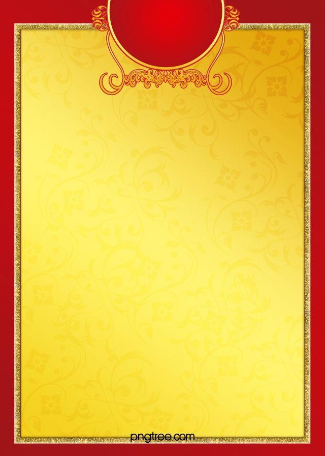 yellow invitation card background hd