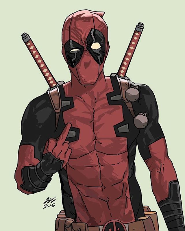 Deadpool!! Art by Dave Seguin