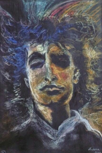 Bôb Dylan, suchý pastel