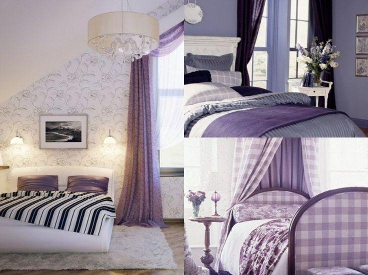 1000 id es sur le th me literie romantique sur pinterest chambres shabby ch - Chambre couleur lilas ...