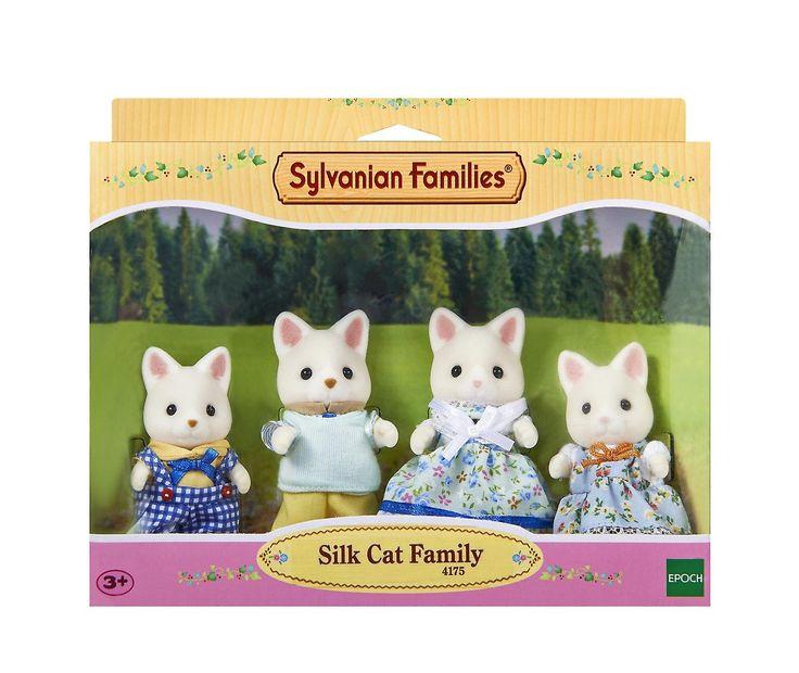 Sylvanian Families Silk Cat Family - 169kr