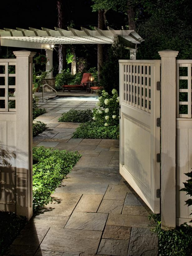 chrome hearts clothing closet ministry boise idaho newspaper archives Romantic Backyard GetawayThis smooth cedar entry gate opens to a luxurious pergola garden and spa that features accent and path lighting to create an intimate backyard setting  Design by Bob Hursthouse